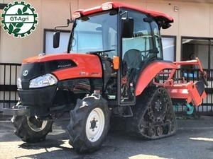 Ah5290 KUBOTA クボタ KL285 パワクロ トラクター 爪新品 ACキャビン付き パワステ 4WD 最大28馬力 アワー913h【整備済