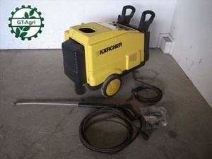 Ce3262 KARCHER ケルヒャー HDS600Ci 温水機能高圧洗浄機 200V 整備/テスト済み