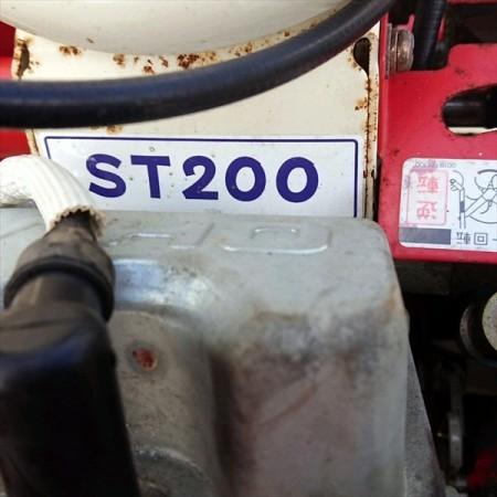 Ag191127 OREC オーレック ST200 カルチミニ 土上げ機 管理機 最大6馬力【整備品】*