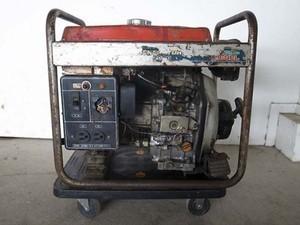 B6e3269 YANMAR ヤンマー 形式不明 ディーゼル発電器 ヤンマーL40 ディーゼルエンジン始動確認済 ジャンク品 直接引取限定