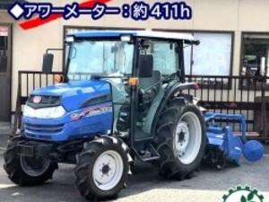 Ag191170 ISEKI イセキ トラクター ジアス ATK300-UCY 411時間 キャビン 【整備品/動画あり】■直接引取り限定■*