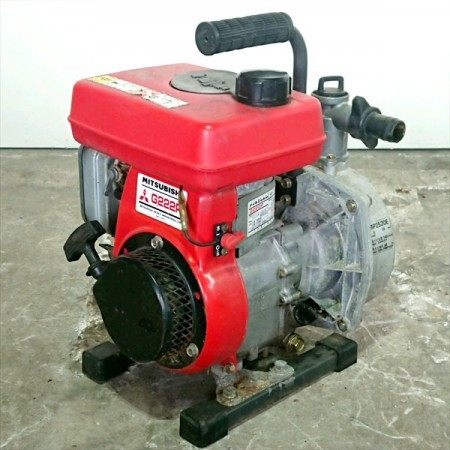 A17g191192 MARUYAMA 丸山 MP2520E エンジンポンプ 口径:25mm 2.2馬力【整備品】*