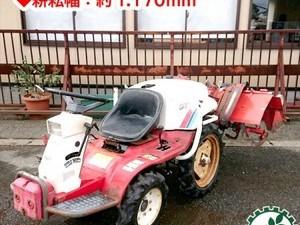 Dg191222 YANMAR ヤンマー UP-2 乗用トラクター 12馬力 ウルトラポチ 《平畝整形仕様》【整備品/動画あり】■直接引取り限定■*