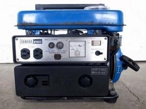 B2e3310 YAMAHA ヤマハ ET-500 2サイクル発電機 60Hz専用 動画有 整備/テスト済み