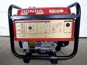 B2e3309 HONDA ホンダHIPPO  EP600 発電機 60Hz専用 100V 5.5A 動画有 整備/テスト済み