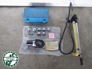 A21e3324 西田製作所 NC-325DⅡ型 分離式 油圧端子圧着機 油圧ポンプ:NC700型