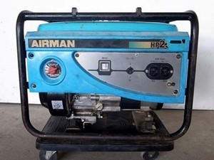B6e3346 AIRMAN エアーマン HP2300 発電器 100V 23A 60Hz専用 ジャンク 直接引取限定