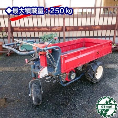 Dg191318 ウィンブルヤマグチ YM-540Z3輪運搬車 最大250kg 2.9馬力 歩行型*