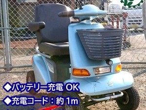 B4g191384 SUZUKI スズキ ET4D-6 セニアカー 電動車 100V シニアカー 電動車椅子*