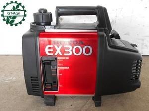 A20h3206【美品】HONDA ホンダ EX300 発電機 60Hz専用 2サイクル 100V 3A 整備/テスト済み 動画有