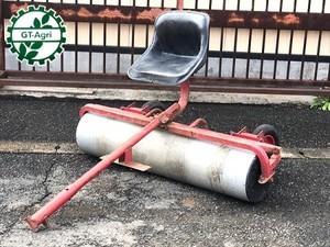 Ae3978 松本農機 麦踏みローラー ■耕耘機/テーラー用■ 1400mm 鎮圧ローラー 麦ふみ