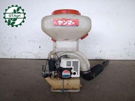 A12e3328 YANMAR ヤンマー FS50 背負式散布機 2サイクルエンジン 動画有 整備/テスト済み