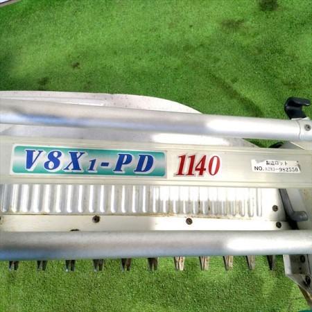 B4g191442 OCHIAI オチアイ V8X1-PD 1140 茶刈機 茶摘機 2人用 1090mm 2サイクルエンジン【整備済み/動画あり】落