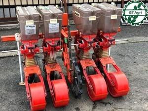 Ah5686 サン機工 さばける号 4条 SO-400 施肥播種機 肥料散布機 トラクターアタッチメント