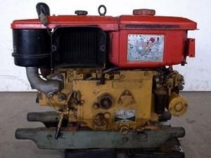 B6e3463 YANMAR ヤンマー NFD9-EK ディーゼル発動機 最大9.0馬力 動画有 整備済み