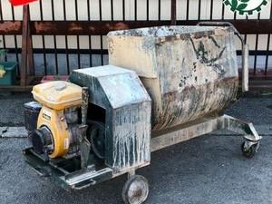 Dg191530 マゼラー 型式不明 コンクリートミキサー ■ロビン EY28B エンジン搭載■最大7.5馬力【整備済み】*