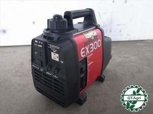 e3475【美品】HONDA ホンダ EX300 ポータブル発電機 発電器 2サイクルエンジン 100V 60Hz専用 300VA 動画有 整備済み