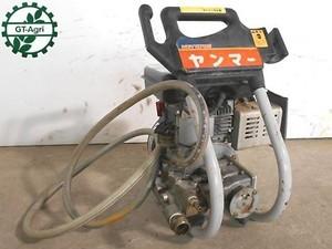 A16h3298 YANMAR ヤンマー NCY270E 高圧洗浄機 カワサキ FA076D 整備済み 動画有