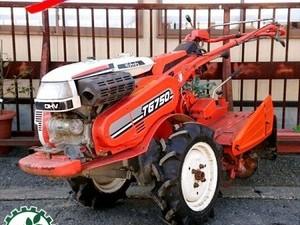 Ag191589 KUBOTA クボタ TG750 管理機 最大7.5馬力 ■セル付き■ 【整備品】耕運機*