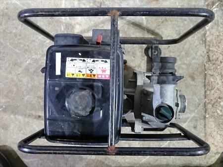 B3e4012 KOSHIN 工進 KR-50 エンジンポンプ 口径:50mm 3.5馬力【整備品/動画あり】