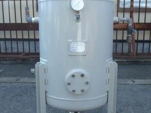 B1a3022 【美品】三井精機工業 エアータンク 第二種圧力容器 ST-02 /200L 空気タンク
