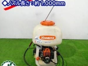 A12g191618 KIORITZ 共立 SHPE701B 背負式動力噴霧機 ■2サイクル■iスタート■消毒 スプレー■噴霧器 【整備品】*