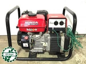 B6e4040 HONDA ホンダ EZ2300 発電機 60Hz 100V 2.3Kva【整備品/動画あり】