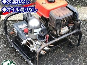 B6g191602 丸山製作所 マルヤマ MS410 セット動噴 50kg/cm2 6馬力 消毒 スプレー【整備品/動画あり】