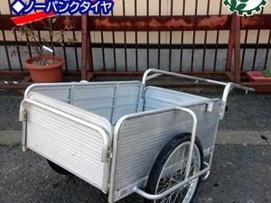 Bg191724 昭和ブリッジ SMC-1 マルチキャリー アルミ製 100kg 折り畳み式 リヤカー 手押し運搬車 台車*
