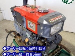 B6g191734 YANMAR ヤンマー NFAD6-LED ディーゼルエンジン 最大6馬力 ■セル付き■ 発動機【整備品/動画あり】*